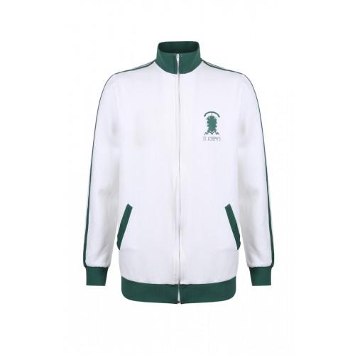 外套 特別款式 白綠版